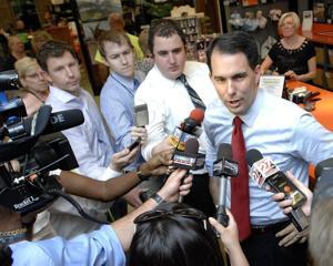 Photos: Wisconsin Gov. Scott Walker 7/27/2015