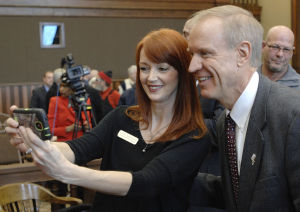 Photos: Governor Rauner in Livingston County 3/2/2015