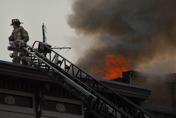 Sas B Fire Is Burning