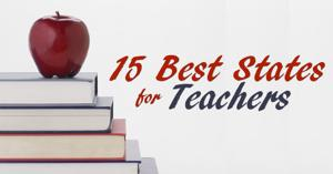 2015's 15 best states for teachers