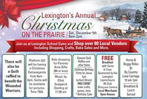 Lexington's annual Christmas on the Prairie