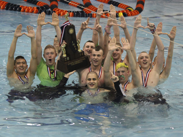 Miller Drury Power U High To State Swimming Crown High School Boys Swimming Diving