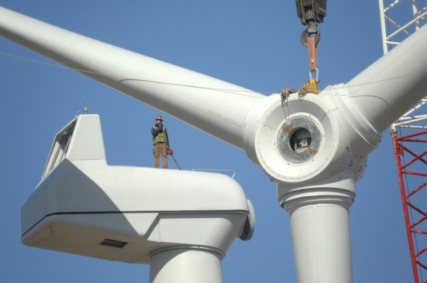 Photos Hcc Wind Turbine Construction Gallery
