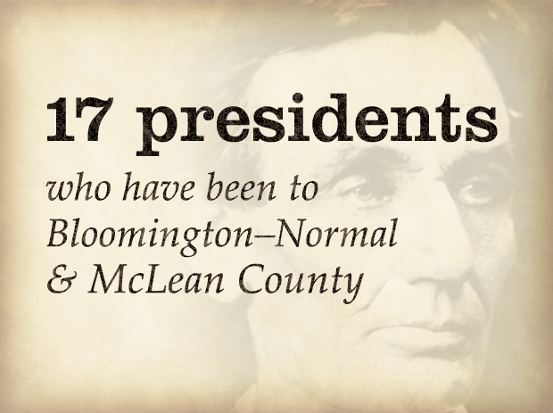 17 presidents who have been in the area