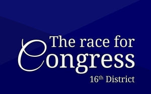 The race for U.S. Congress, 16th District