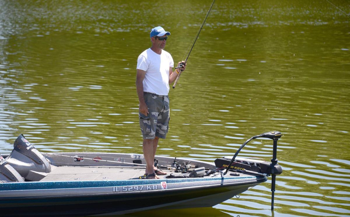 Murky waters clinton lake users note value amid talk of for Clinton lake fishing