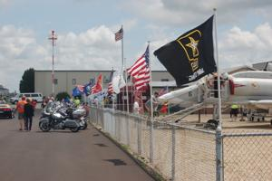 Photos: Flag Day at the Prairie Aviation Museum