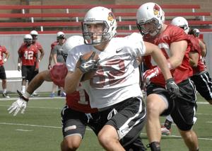 Photos: ISU football first day of practice