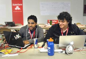 Photos: Hackathon at Illinois State University