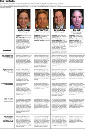 Ward 4 candidates share many views