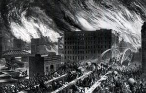 Today In History, Oct. 8: The Great Chicago Fire