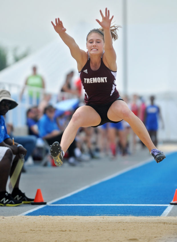 1A girls state track: Tremont's Glueck, EPG's James win titles ...