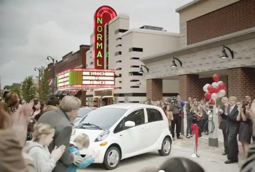 Normal focus of national mitsubishi ad campaign local for Mitsubishi motors bloomington il
