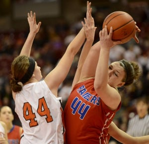 Iroquis West falls to Prophetstown in IHSA CLASS 1A GIRLS BASKETBALL 45-28 2/28/2015