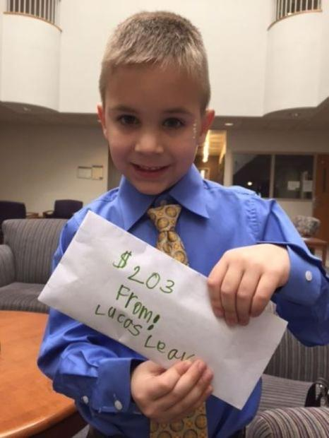 Flick: $203 ... from a 6-year-old just wanting to help