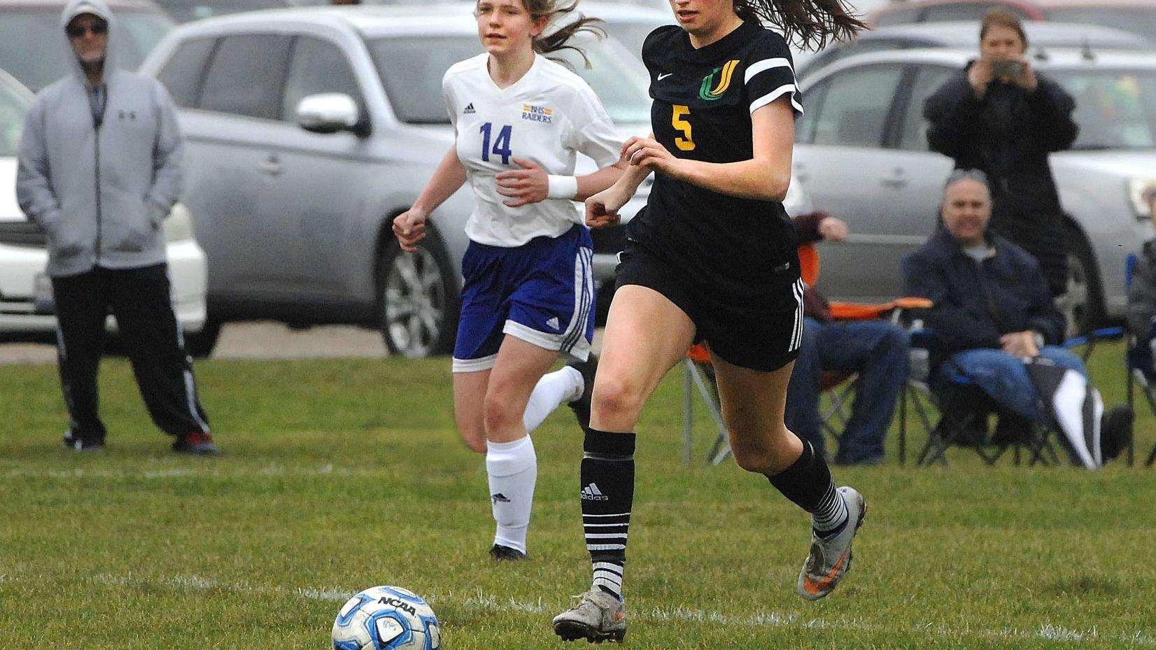NCHS, U High girls notch Intercity soccer shutouts