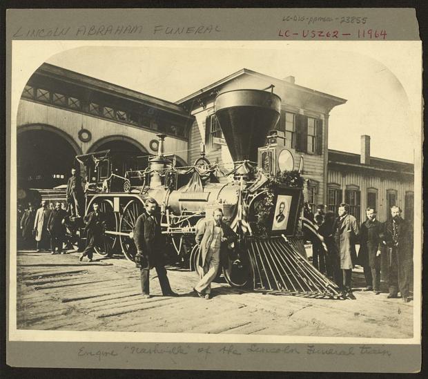 Long train running: Lincoln funeral journey inspires concert