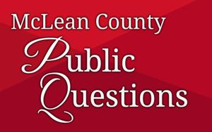 McLean County public questions