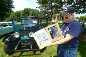 Photos: David Davis Mansion Car Show McLean County Antique Auto Club 08-01-2015