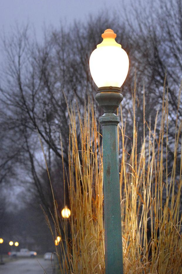 antique street lights. Black Bedroom Furniture Sets. Home Design Ideas
