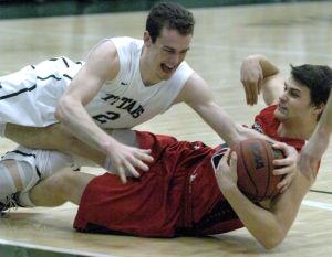 Photos: Carthage at Illinois Wesleyan Men's Basketball