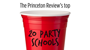The top 20 party schools in the U.S.