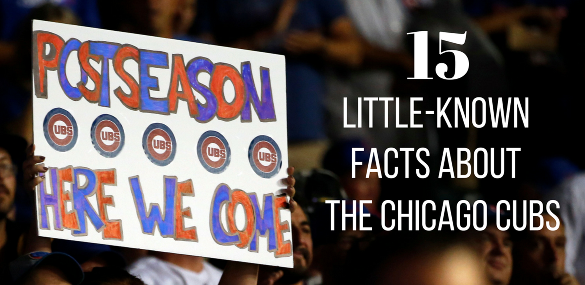 15 little known facts about the chicago cubs baseball pantagraph