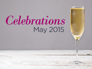 May celebrations: Weddings, anniversaries, and more