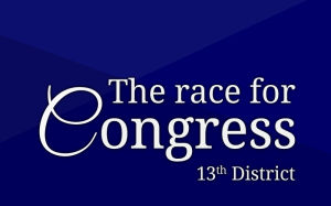 The race for U.S. Congress, 13th District