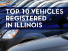 Slideshow: Top 10 vehicles registered in Illinois last year