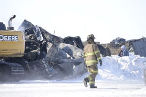 Photos: Haab Forest Products fire 2/27/2015