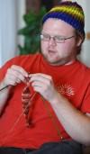 Men Knitting Hats