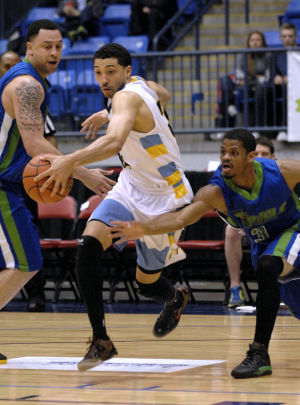 Photos: Bloomington Flex vs Indiana Diesels Basketball - 3/30/13