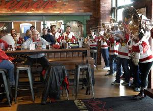 Photos: Redbird fans at Valley Tournament