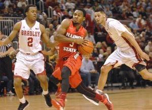 Photos: ISU men win against Bradley