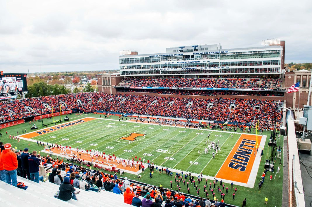 U Of I Plans For Further Upgrades To Memorial Stadium