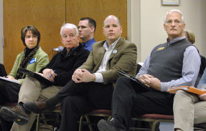 Normal City Council candidates address laborers