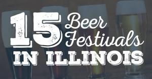 15 beer festivals in Illinois