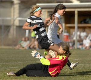 Photos: Normal West vs. U High girls soccer