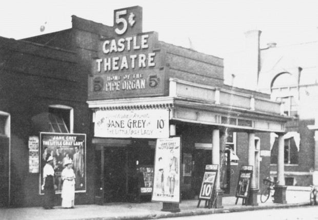 The Castle Theater in Bloomington, Illniois (1904-1916)