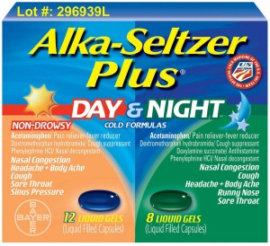 bayer recalls 100 000 alka seltzer cold caps packages. Black Bedroom Furniture Sets. Home Design Ideas
