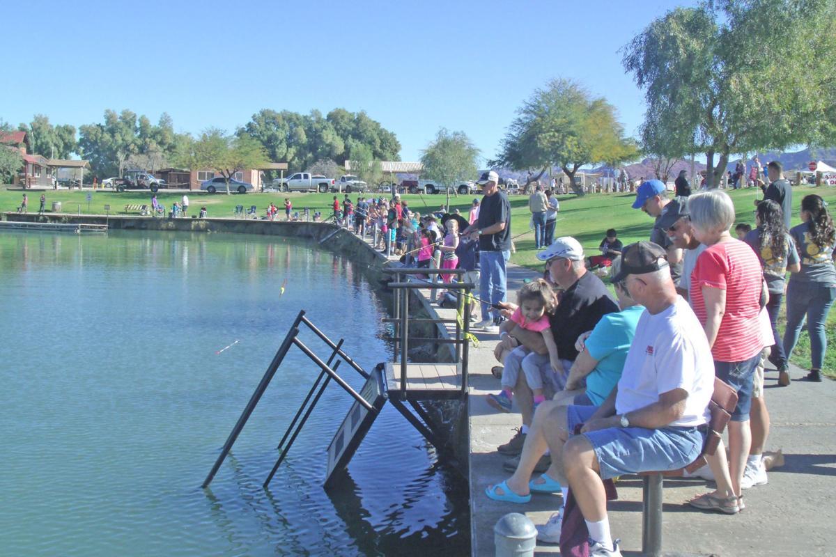 Take a kid fishing slated for feb 11 sports for Take a kid fishing