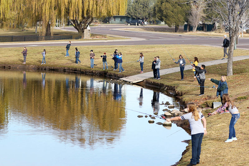 Fishing for life 39 s lessons local news for Green valley lake fishing