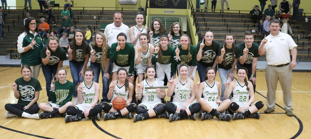 Lady Trojans are regional champs