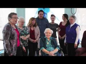 Anne Burhoe celebrates 101st Milestone