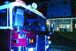 <p>A crew from the South Zanesville Fire Department was one of 26 agencies that assisted in the Feb. 1 evacuation of the village of Crooksville. Multiple leaks in a gas line that services the village prompted the evacuation.</p>
