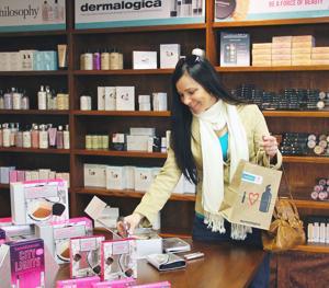 Annetta Crawford shopping