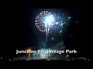 Junction City 4th of July Display