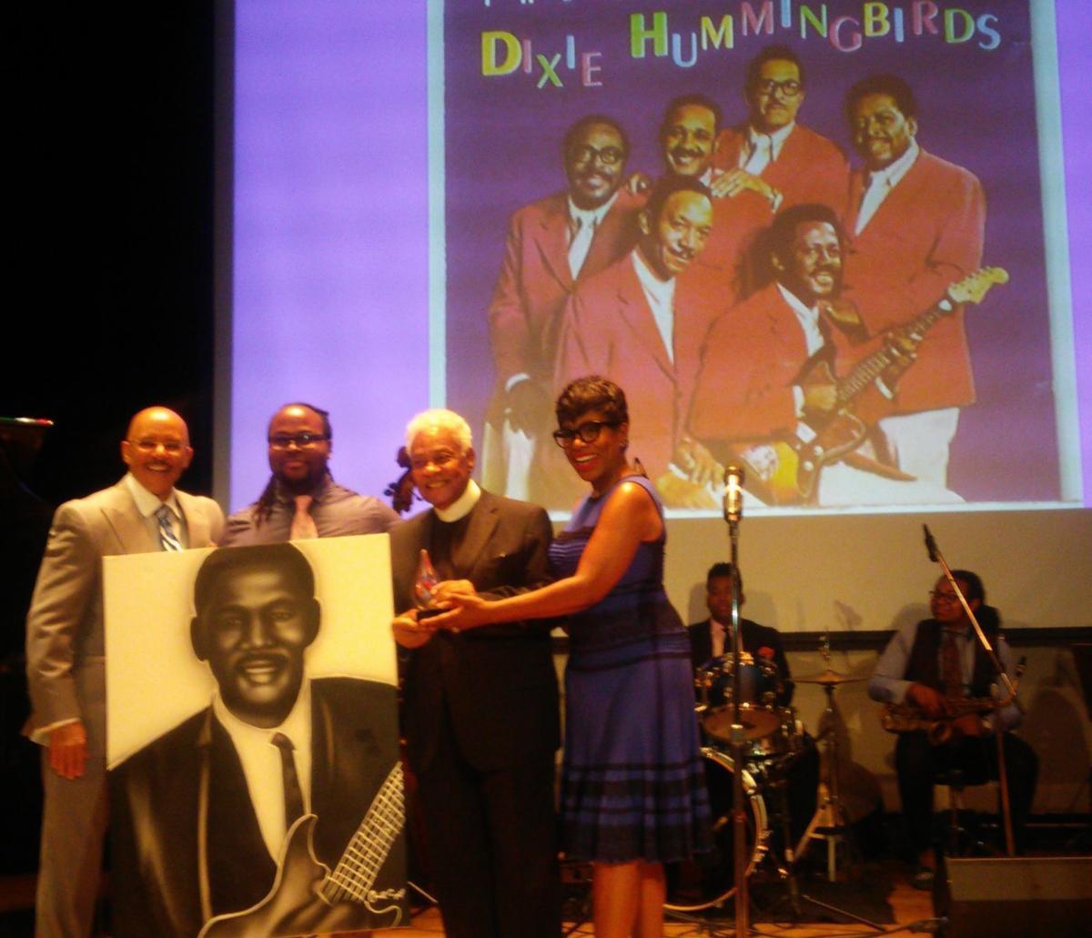 Legendary Dixie Hummingbirds member Howard Carroll honored