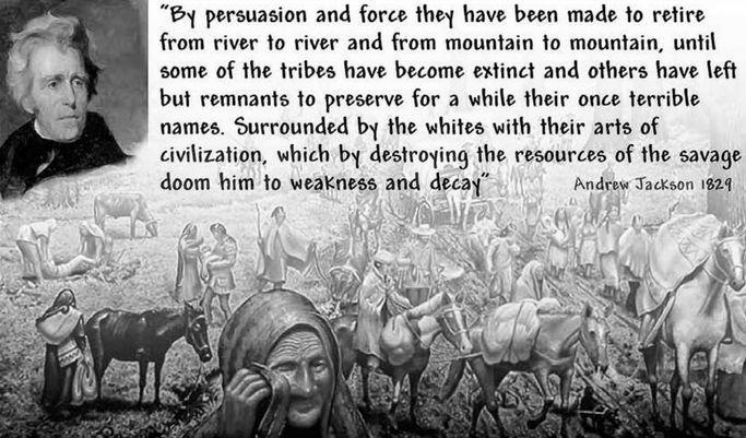 trail of tears white americas indian holocaust